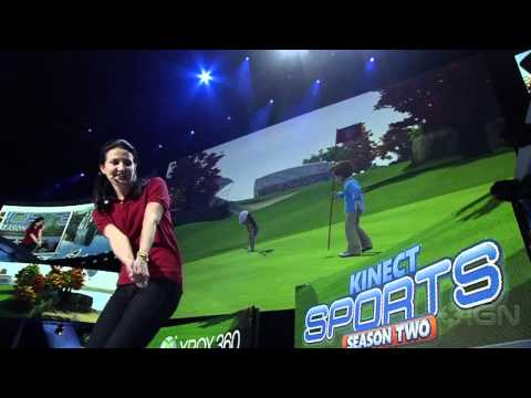 Kinect Sports: Season 2 - E3 2011: Gameplay Demo