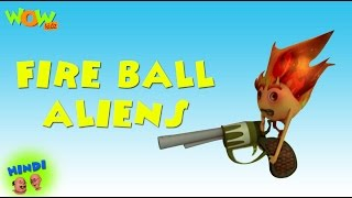 getlinkyoutube.com-Fire Ball Aliens - Motu Patlu in Hindi