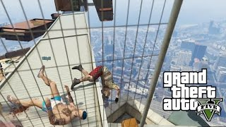 getlinkyoutube.com-GTA V DEATH RUN! ARDEN EN EL INFIERNO COMO POLLOS FRITOS! xFaRgAnx