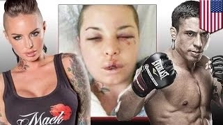 getlinkyoutube.com-المصارع آلة الحرب يعتدي بالضرب على النجمة الإباحية كريستي ماك