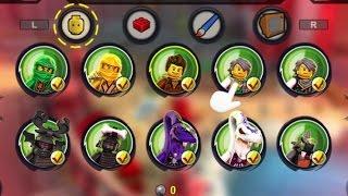 getlinkyoutube.com-LEGO Ninjago: Shadow of Ronin - All Characters & Red Bricks Unlocked - 100% Complete