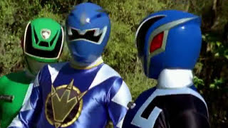 getlinkyoutube.com-Power Rangers S.P.D. and Dino Thunder - Team Up Morph and Fight (Wormhole Episode)