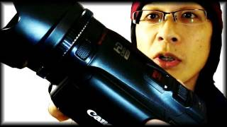getlinkyoutube.com-【カメラ】キヤノンiVIS HF G10と超便利カメラグリップ Canon iVIS HF G10 with Opteka X-grip