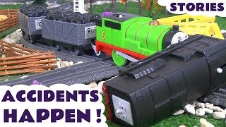 getlinkyoutube.com-Thomas & Friends Accidents Happen with Toy Trains Fun Family Train Stories by ToyTrains4u