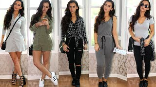 getlinkyoutube.com-BACK TO SCHOOL / FALL Lookbook | Carli Bybel