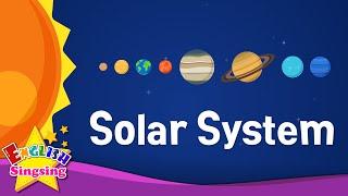 getlinkyoutube.com-Kids vocabulary - Solar System - planets - Learn English for kids - English educational video