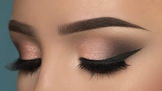 getlinkyoutube.com-Soft Rosy Smokey Eye Makeup Tutorial