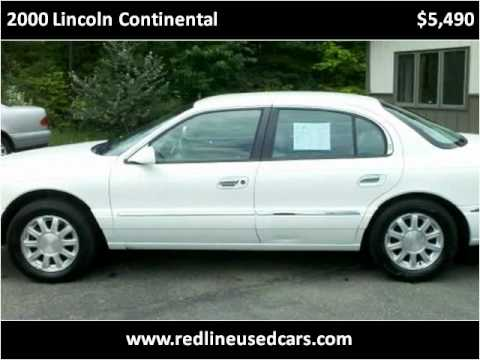 2000 Lincoln Continental Problems Online Manuals And