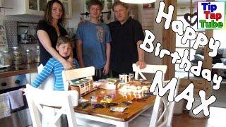 Max 13er Geburtstag Geschenke am Morgen neues Fahrrad Sharptail Street von Bulls Mitgeschenk für Ash