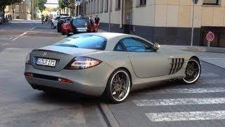 getlinkyoutube.com-Supercars in Frankfurt Vol. 16 - GTO, C63 AMG BS, Brabus SLR, MF5 Roadster, 2x 612, Scudi