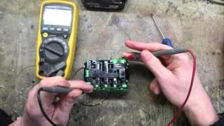 getlinkyoutube.com-Makita BL1830 18v Battery Repair