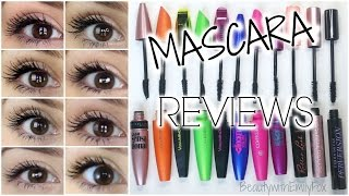 getlinkyoutube.com-Mascara Reviews  - Mostly Drugstore + EYE PICTURES