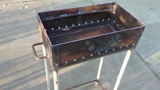 getlinkyoutube.com-Как сделать мангал своими руками.  Barbecue facilities.