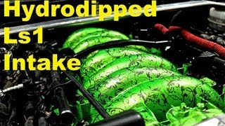 getlinkyoutube.com-Hydrodipping the Ls1 intake manifold