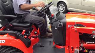 Kubota BX-2370 Diesel 4X4 Tractor Orientation by York Tractor