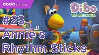 getlinkyoutube.com-[OCON] Dibo the Gift Dragon _Ep23 Annie's Rhythm Sticks(Eng dub)