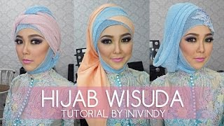 getlinkyoutube.com-Tutorial Hijab Wisuda 2015 | Hijab Tutorial For Graduation | Do It Yourself