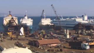 getlinkyoutube.com-Turkey's massive ship recycling program