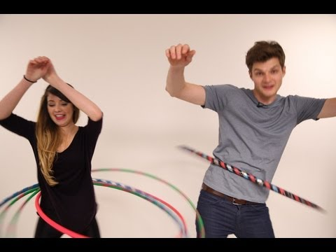 HULA HOOPING: CHALLENGE JIM AND ZOELLA