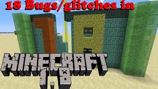 getlinkyoutube.com-18 Bugs/glitches in Minecraft 1.8