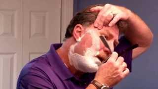 getlinkyoutube.com-Best How to Shave with a Straight Razor Tutorial for Beginners Straight Razor Designs.com