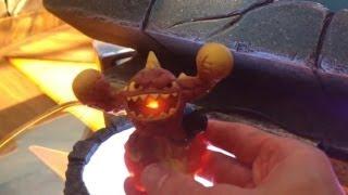 getlinkyoutube.com-LightCore Skylanders Shroomboom, Eruptor and Prism Break Gameplay and Figures