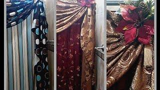 getlinkyoutube.com-Como arreglar las cortinas de baño para que se vean fabulosas en navidad y en toda ocasión