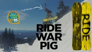 getlinkyoutube.com-Ride War Pig Snowboard Review - Board Insiders - 2017 Ride Snowboards Warpig Review