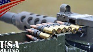 getlinkyoutube.com-ブローニングM2・M249・M240機関銃 ドイツ軍射撃訓練 - M2 (.50 Caliber), M249, M240 Machine gun German Forces Live Fire