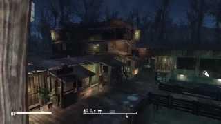 getlinkyoutube.com-Fallout 4 - Settlement Building - The Slog Market Town