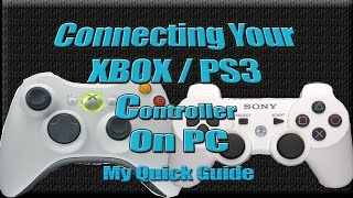 getlinkyoutube.com-How to setup PS3 controller on PC for Windows PC Games like Witcher 3 GTA V Skyrim Dark Souls Guide
