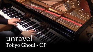 getlinkyoutube.com-Unravel - Tokyo Ghoul OP [piano]