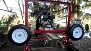 getlinkyoutube.com-DIY Sawmill