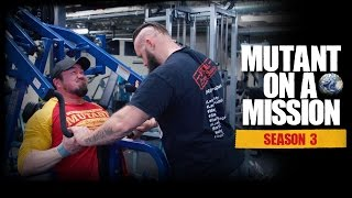 MUTANT ON A MISSION - IRON GYM, Lac La Biche, AB. World's best SMALL TOWN gym?! (Season 3)