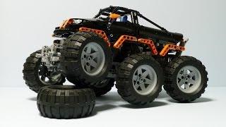 getlinkyoutube.com-LEGO Technic Monster Truck 6x6
