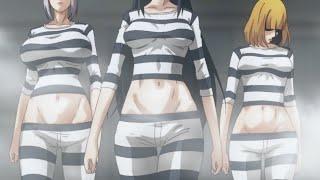 getlinkyoutube.com-Prison School Anime Meiko & Hana & Mari Ryona Going To Prison