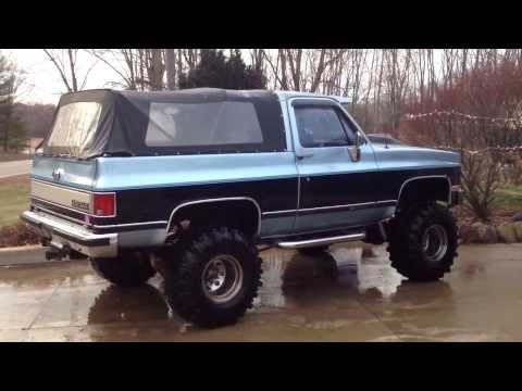 1990 468ci Big Block Chevy K5 2500 4X4 Blazer