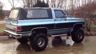 getlinkyoutube.com-1990 468ci Big Block Chevy K5 2500 4X4 Blazer