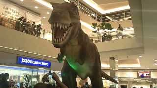 getlinkyoutube.com-Dinosaurs attack mall