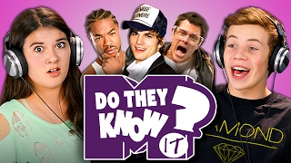 getlinkyoutube.com-DO TEENS KNOW 2000s TV SHOWS? (MTV Edition) (React: Do They Know It?)