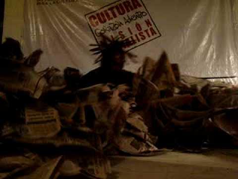 Nino Pocaterra : Clausura del 4 Mundial de Arte Corporal IARTES ARAGUA 2008 / VENEZUELA