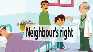 getlinkyoutube.com-Neighbour's right - Islamic cartoon