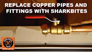 getlinkyoutube.com-Replacing Copper Pipes and Fittings with SharkBite Push Fit Connectors -- by Home Repair Tutor