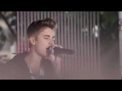 Justin Bieber - 18 July 2012 - Sunrise - love me like you do, fall and down to earth acoustic