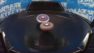 getlinkyoutube.com-Beyblade Battle Jade Jupiter S130RB VS L-Drago Destroy F:S HD! EPIC