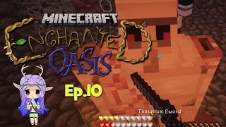"getlinkyoutube.com-""DEATH BY CLAY"" Minecraft Enchanted Oasis Ep 10"