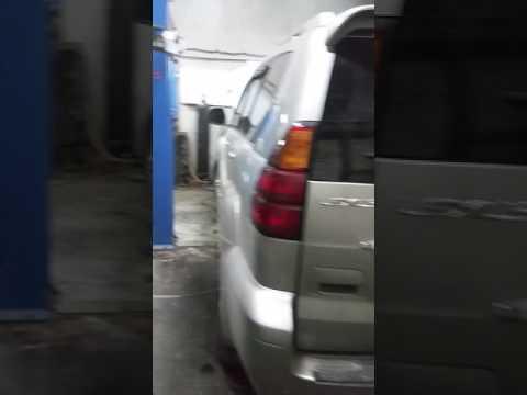 Промывка радиатора печки Lexus GX470