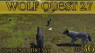 getlinkyoutube.com-Luck on the Long Journey!! || Wolf Quest 2.7 - Stories in the Sky || Episode #36