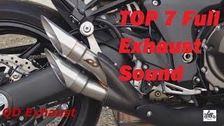 getlinkyoutube.com-Top 7 Full Exhaust Sound Kawasaki Z1000  / QD Exhaust, Akrapovic, Austin Racing,  Yoshimura ...