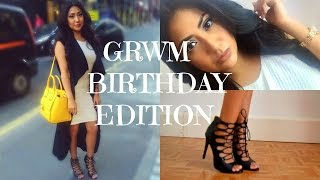 getlinkyoutube.com-GRWM♡ Birthday Edition BeautyByLizeth